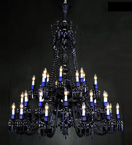 36 Light Baccarat Style Chandelier