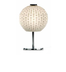 Arabesque Design Blown Glass Table Lamp