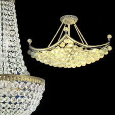 Small Chandeliers - height up to 65 cm